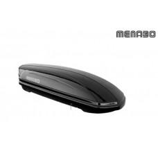 Krovna kutija MENABO Mania 320 lit crna