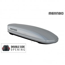 Krovna kutija MENABO MANIA 580 DUO ABS SILVER